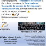 Image for the Tweet beginning:   #rockchoirtorre #torrelodones @Torocklodones