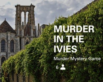 Feeling nostalgic for your grad student days? All the academic backstabbing, department politics? That's right. Play our Murder Mystery game. <br>http://pic.twitter.com/Typ603jWpp