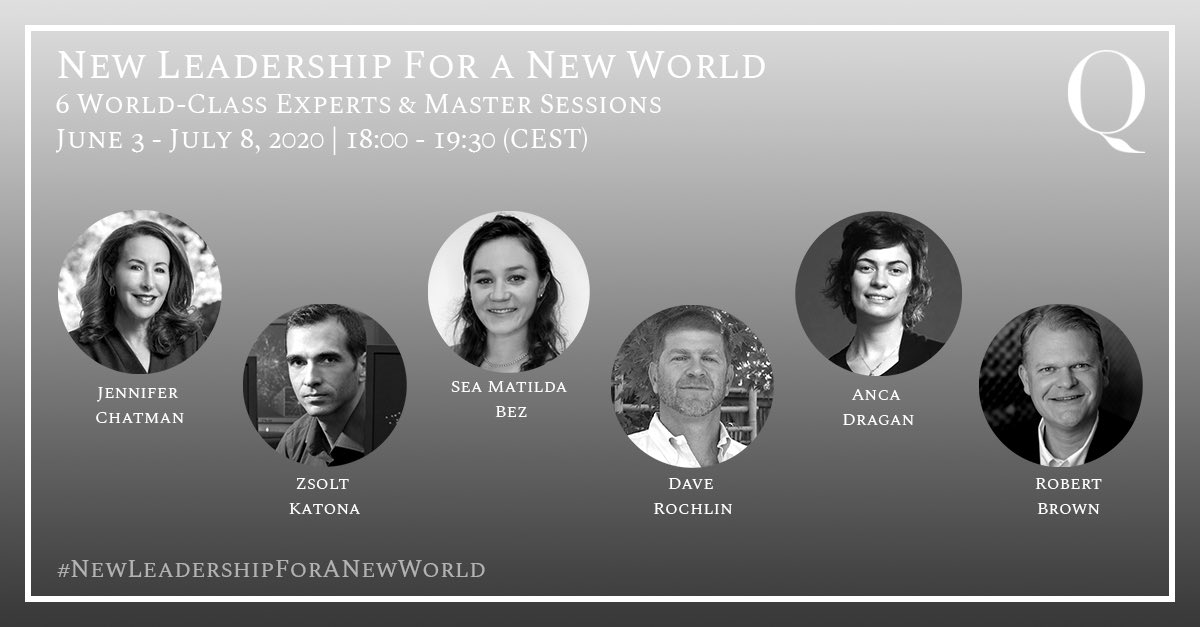 "Thank you for attending the first session ""Boost your potential with Open Innovation"" of our Master Series Webinar #NewLeadershipForANewWorld!  You can still register for the 5 remaining sessions https://newleadership.q.group   #InnovationStrategy #NewTrends #ThoughtLeadership #Qgrouppic.twitter.com/Ofm8CKFt6T"