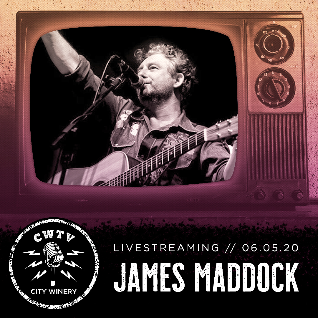 Don't miss an exclusive City Winery live stream with James Maddock this Friday 6/5! Join us for this special all-request show and hear ALL your Maddock favorites. VIP Meet and Greet tickets available! Click the link to learn more: https://t.co/0EPjNfeTAa #livestream https://t.co/MJAOzO3giw
