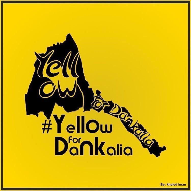 #Yellow for  Dankalia