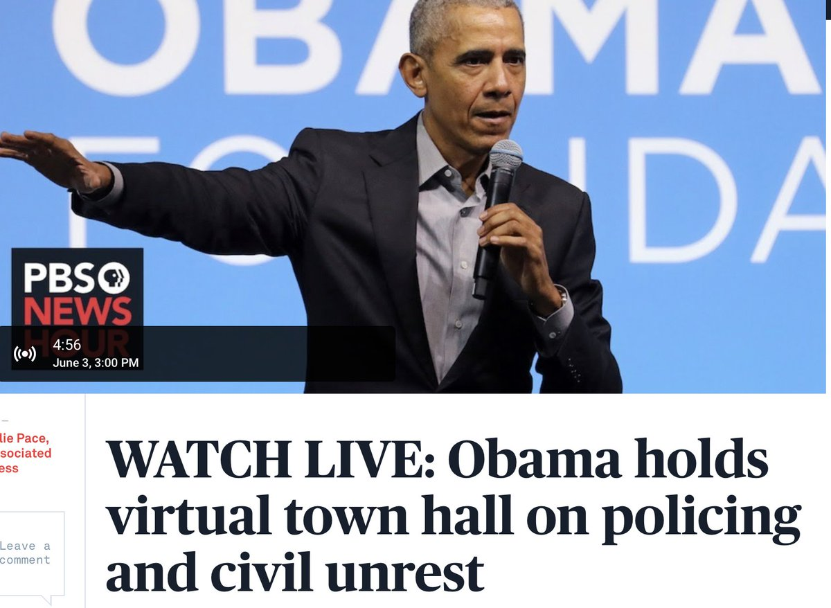 Five minutes until we're reminded what a President sounds like. #TakeObamaLive