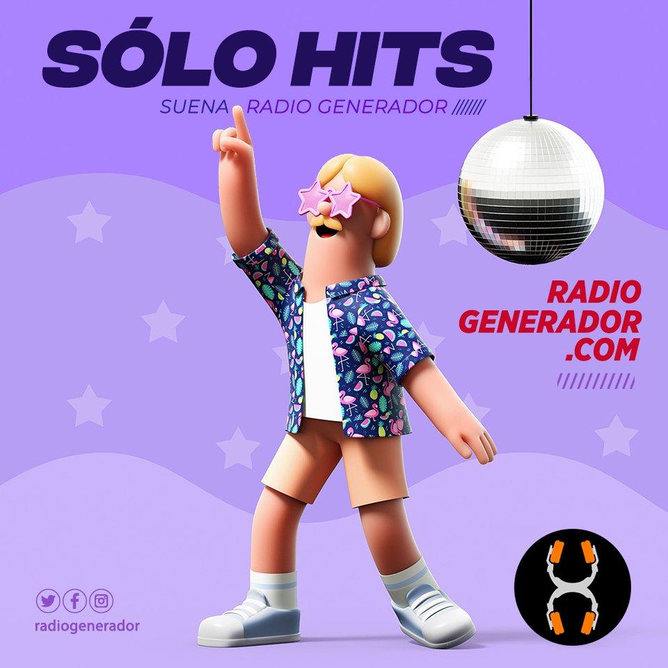 📣 #EnCasaATR 🏡 #SoloHits 💣🎉 Subí el volumen que cortamos la semana y te ponemos a bailarrr en la tarde! Hasta las 20:00 hs! Suena #Conexión en #RadioGenerador 🙌😎 Escuchanos en  👍 Sólo Música Copada! 📻