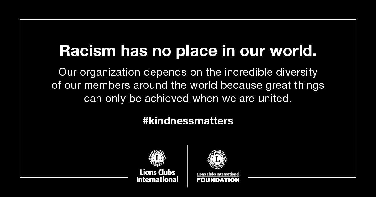 test Twitter Media - Racism has no place in our world.  Our organization depends on the incredible diversity of our members around the world because great things can only be achieved when we are united. #KindnessMatters https://t.co/0Xkbi82prg