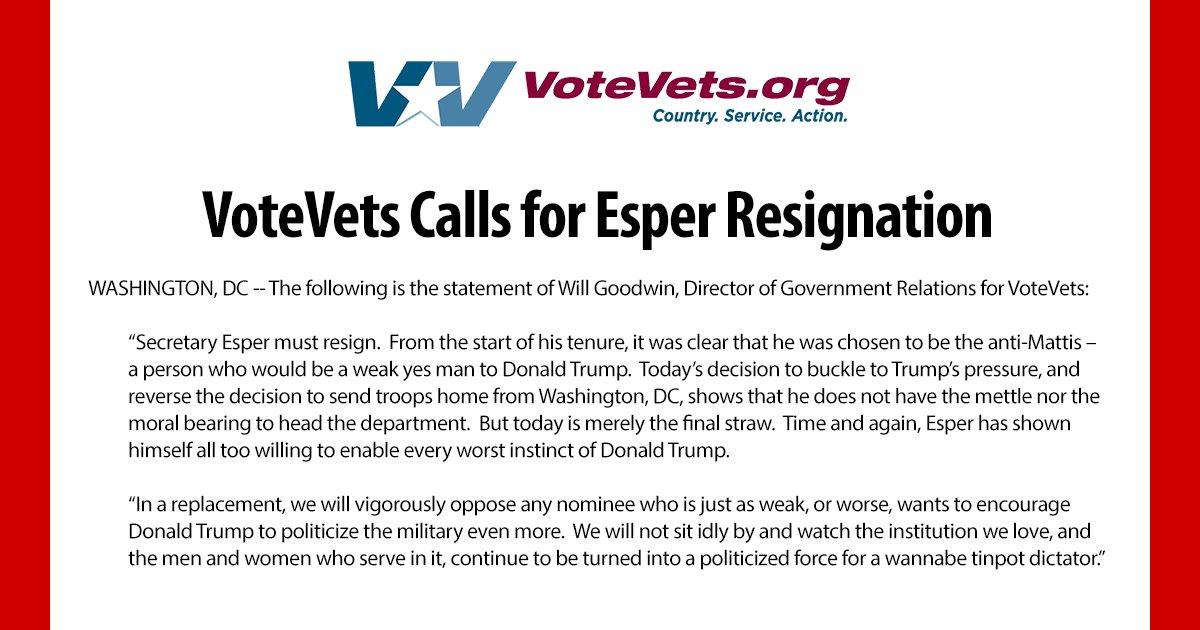 @votevets's photo on Esper