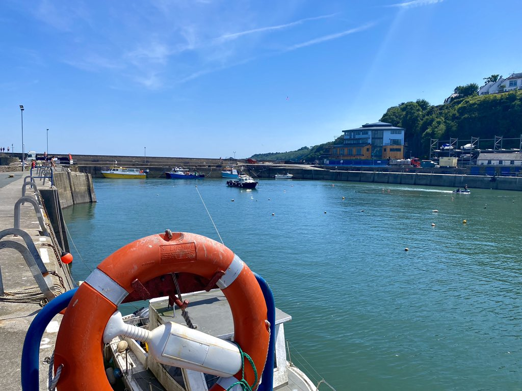 Top Tourism news, local boats to start being launched in Saundersfoot Harbour REMEMBER #VisitWalesLater @WalesCentre  @SaundersfootCFT @VisitWalesBiz @VisitPembs @UwtsdTourism @UWTSD @tenbyobserver @WTelegraph @WTA_Tweets @SaundersfootSC @PLANED_Pembs #VisitPembrokeshireLater https://t.co/HxICKUNko8