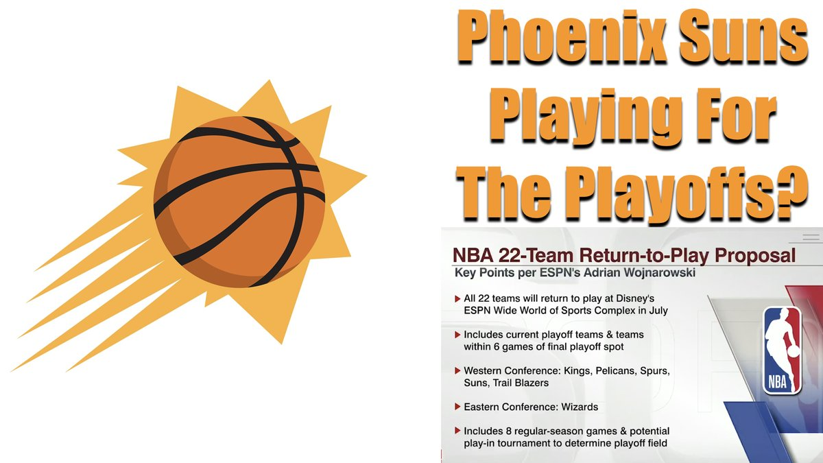 The NBA Is RETURNING! What does this mean for the Phoenix Suns? Here are my thoughts #NBA #NBATwitter #NBATogetherLive #NBAisBack #Suns #ValleyBoyz #nbaplayoffs https://t.co/gBIaarDp0V https://t.co/3gCCWnywhs