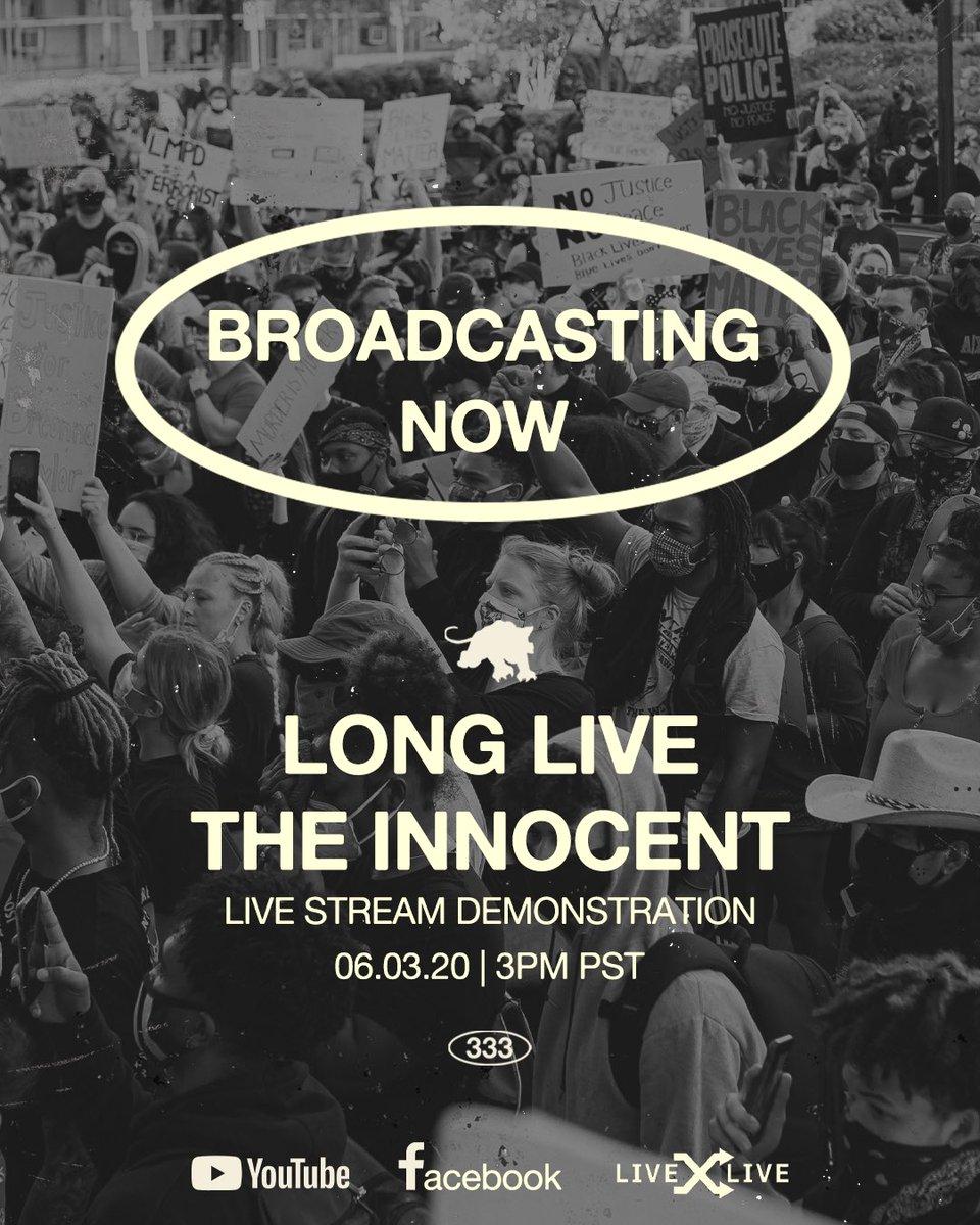 LONG LIVE THE INNOCENT   BROADCASTING NOW   https://t.co/hJKmqsZvuU   #LONGLIVETHEINNOCENT https://t.co/nX4863nohm