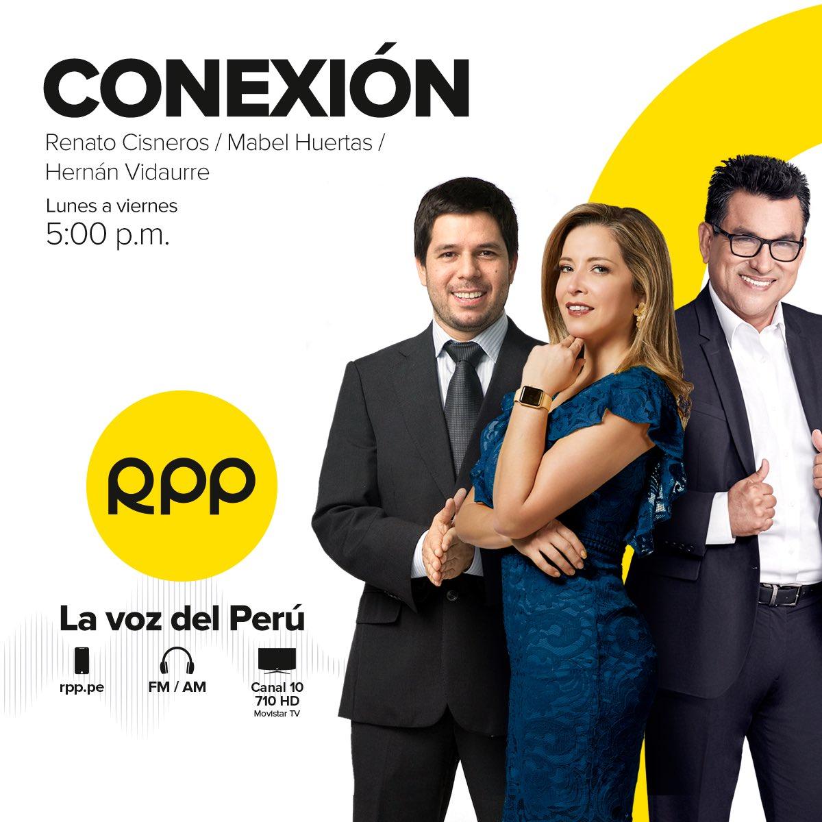 🔴 EN VIVO en #Conexión con @mabel_huertas, @recisneros y Hernán Vidaurre.   ☑ ¡Tu cuarentena bien informado! Escucha el programa 👇   🗣️ RPP, #LaVozDelPerú 🇵🇪   📻 ► 89.7 FM / 730 AM  📲 Vía web ►