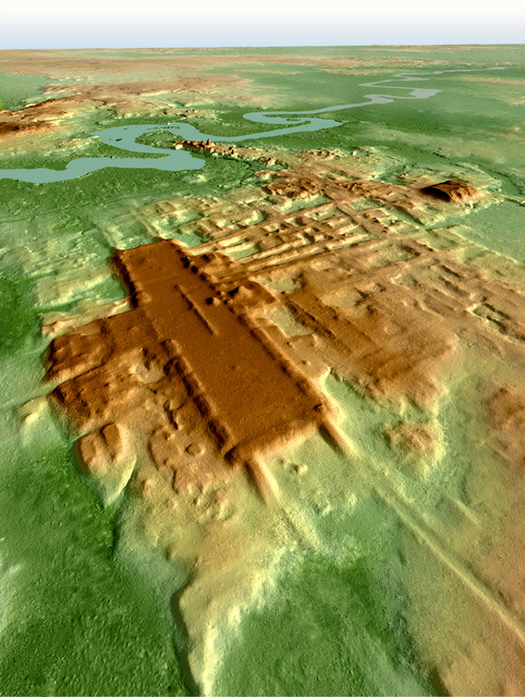 【大発見】マヤ文明で最大の建造物見つかる「文明観を覆す発見」建造物は南北約1400m、東西約400mにわたるという。紀元前1000~800年に築かれたとみられる。