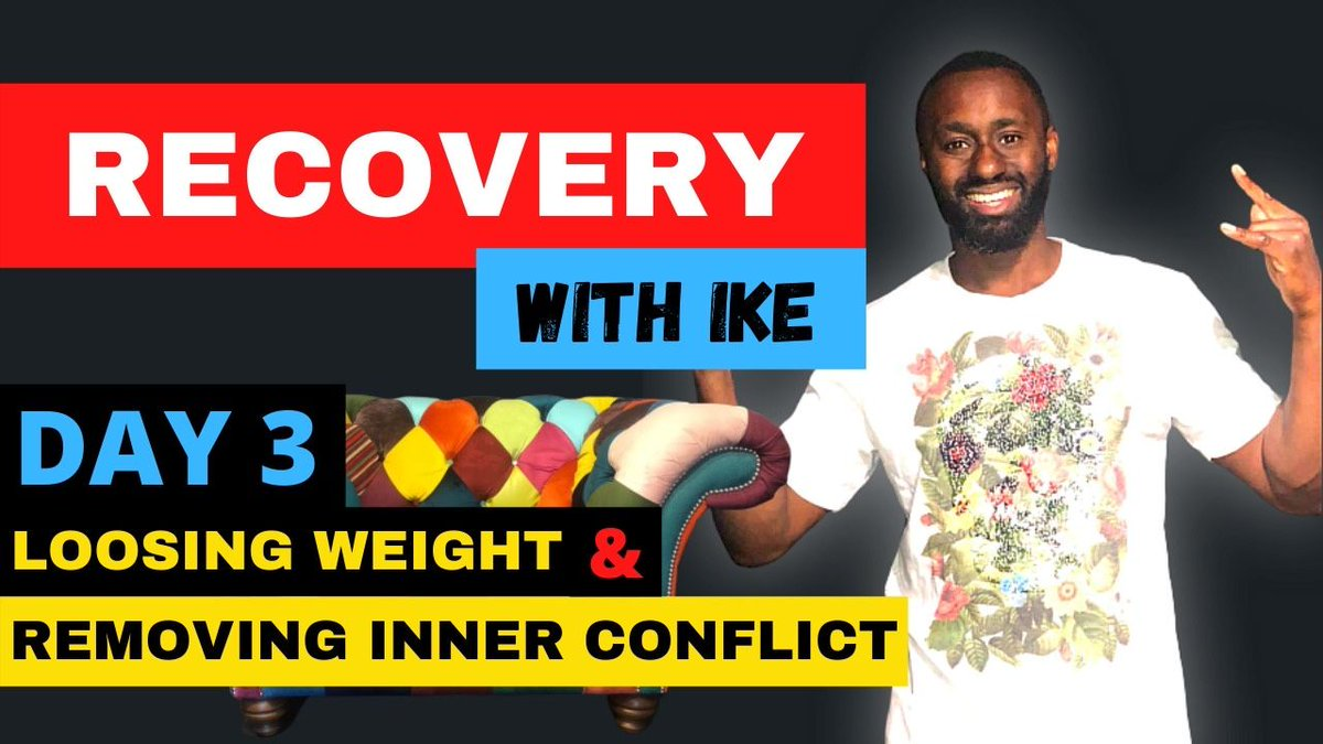 Day 3 - Loosing Weight & Removing Inner Conflict #RecoveryWithIke #ChildOfGod #Recovery #Drugs #Alcohol #Sugar #Inspiration #WeightLoss #InnerConflict #Beastmode #Addiction #Life #TrueHawksSpirit #Hawks40DayFast #MasksForAfrica #MasksForNHS #SupermanFast   https://t.co/kwRxxCDHPz https://t.co/qeZubCMG5C