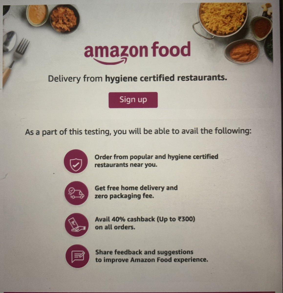 Another one #AmazonFood pic.twitter.com/F11D9zawvT
