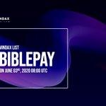 Image for the Tweet beginning: VinDAX Lists BIBLEPAY @BiblePay (BBP)