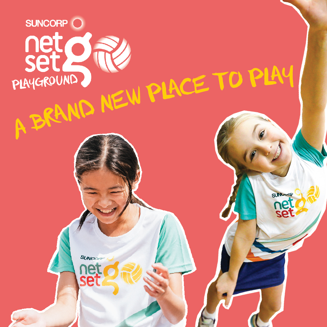 Young netballers all over Australia will have access to online clinics through the launch of Netball Australia's newest online innovation, Suncorp NetSetGO Playground.  Read more - https://t.co/ogWBqogWme https://t.co/DPgIG9Dh5n