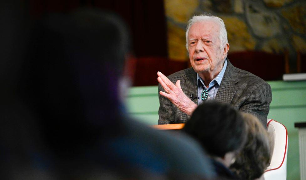 'We are better than this': Jimmy Carter issues statement on racial discrimination https://t.co/4fOHF3ys4P #10TV https://t.co/YDPCQgHpHu