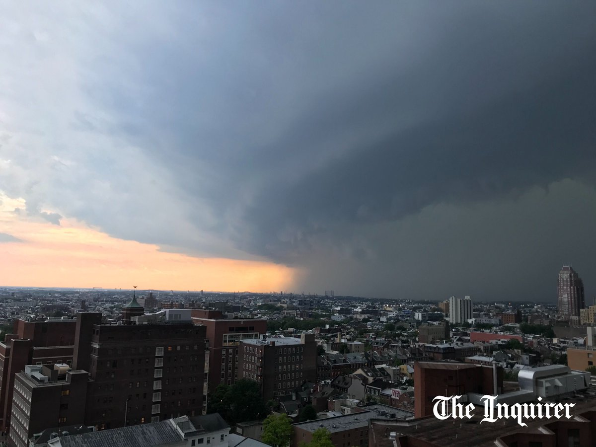 @PhillyInquirer's photo on Tornado Warning