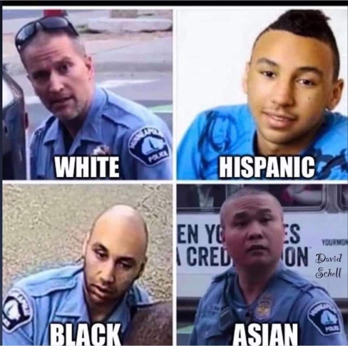 CNN still reporting All 4 White Officers have been charge. Yes that is why President Trump calls them fake news. 4 white? An eyesight test @ Specsavers is required!