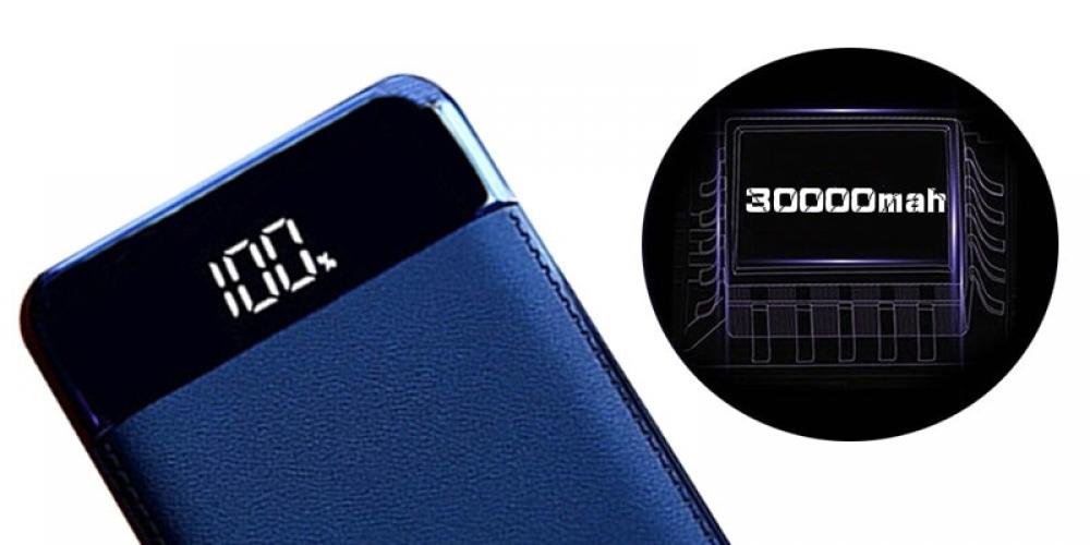 #happy #streetstyle #moda 30000mah Power Bank External Battery USB Mobile phone Charger