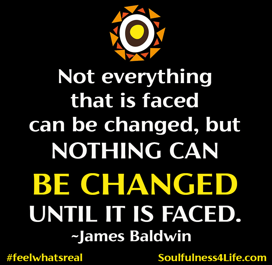 """SOULfirmation: """"I AM FACING WHAT MUST CHANGE IN MYSELF AND THE WORLD."""" (Close your eyes and repeat slowly in your mind or out loud.) https://t.co/7KM3pCvU9u #WednesdayWisdom #quotes #inspiration #mindfulness #truth #change #healing #transformation #wellbeing  #empowerment https://t.co/VhytkRyDLy"""
