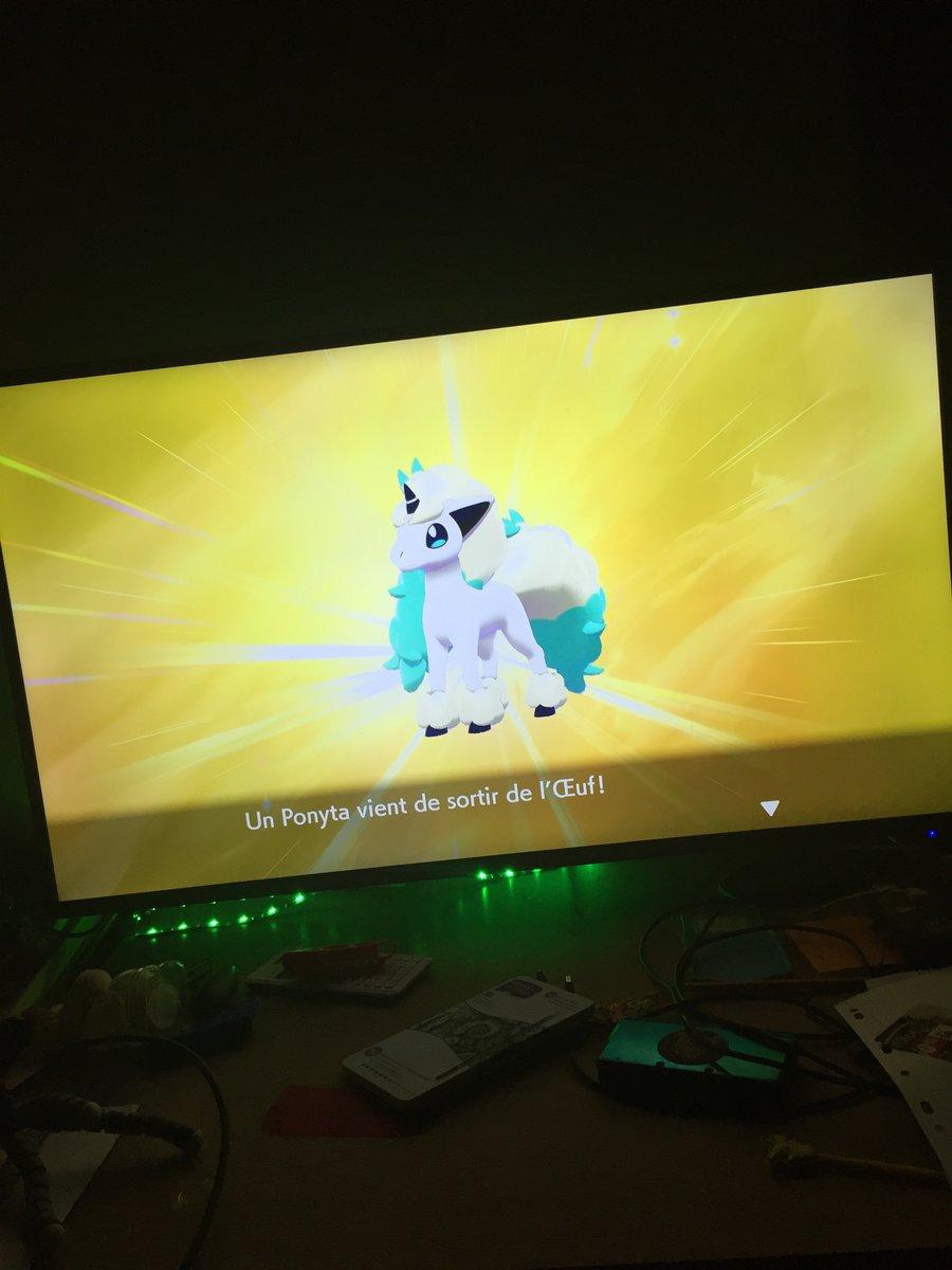 RT @lolo_BZH22: Ponyta de galar shiny en 180 œuf @GalinoTV @CocoPepS @Yunsung54 #PokemonSwordShield https://t.co/5uGpGqYnHY