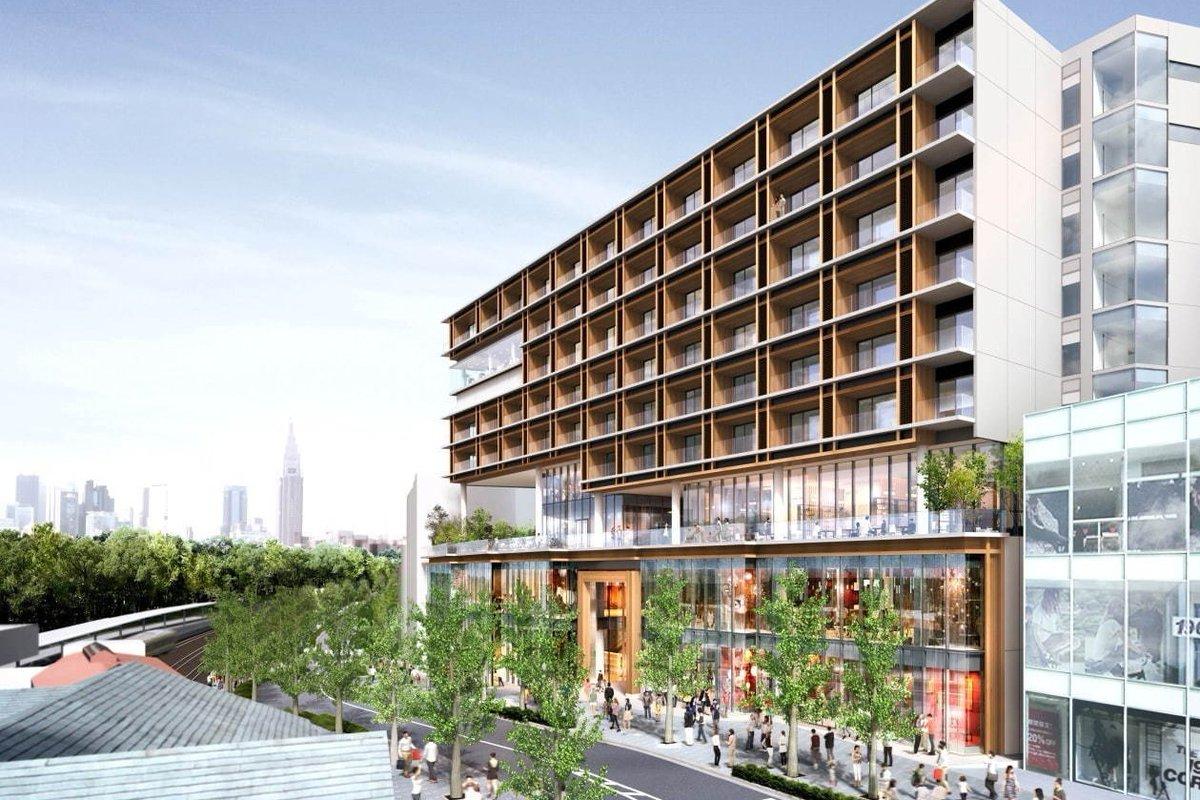 [明日オープン] 原宿駅前に新複合施設「ウィズ原宿」オープン、イケアやユニクロ出店&イベントホールも -