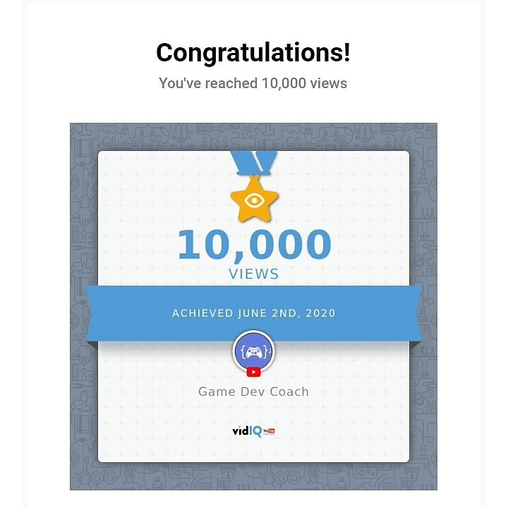 Celebrate small wins. Thanks to everyone who helped me reach this #youtube #milestone y'all have a special place in my heartpic.twitter.com/u9gQvwxIbP