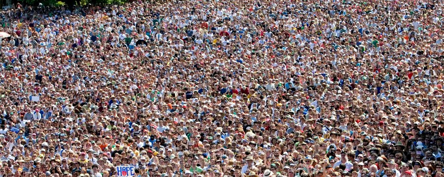 the amount of people who are about to weigh in versus the amount of people I want to hear from