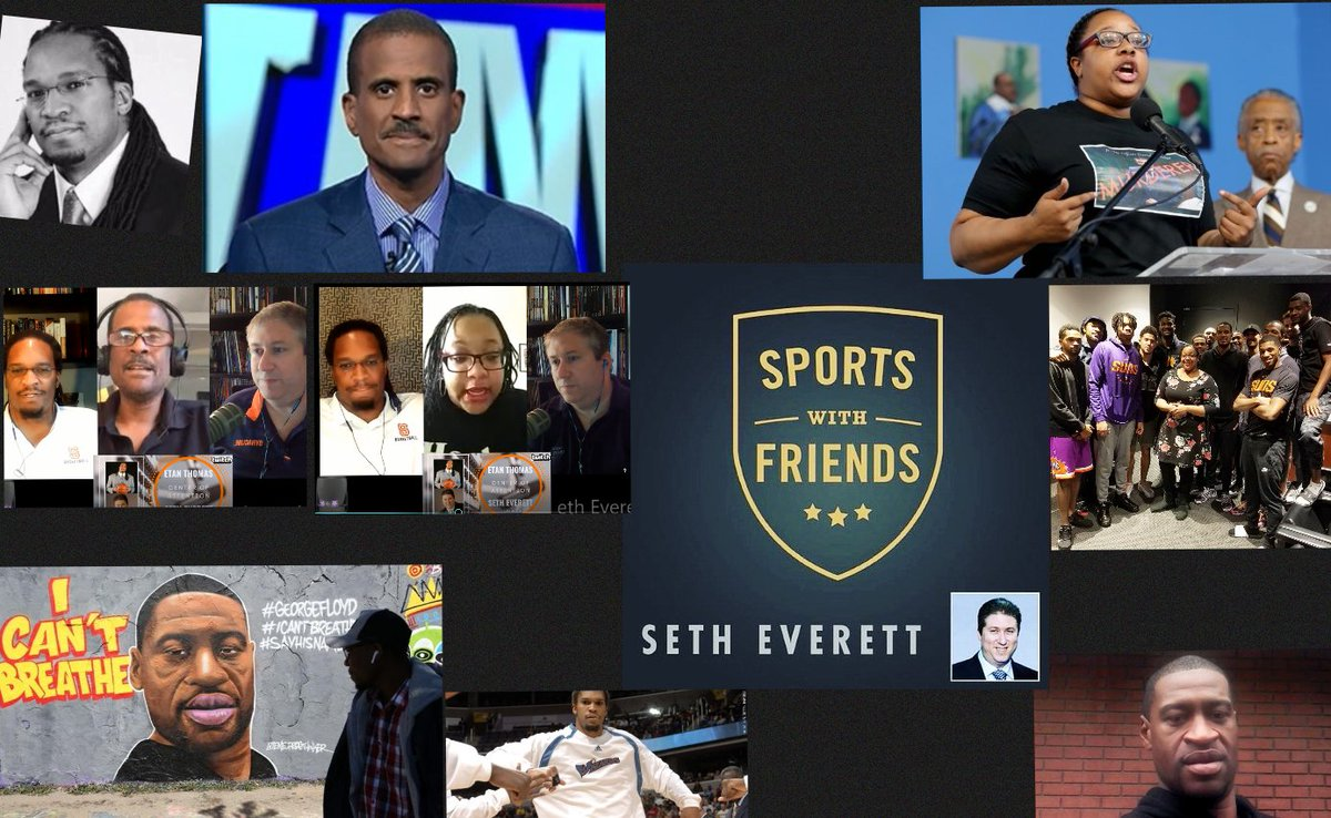 This week on a powerful episode of Sports w/Friends:  Wanted to do something about what has been going on in both the sports world & the real world.  Etan Thomas, David Aldridge, and Emerald Garner (daughter of Eric Garner) helped make it great.  iTunes: https://t.co/jvsBXNTVzv https://t.co/UVWY2sQed8