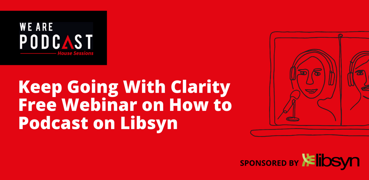 """""""After the We Are Podcast House Sessions you will be READY to get your podcast into the world. Keep going with clarity 👊🏽  Check out this step 'one' to step 'publish-your-podcast' from our sponsor @libsyn https://t.co/G7uVsrMSJm"""" https://t.co/MdaGBV6Yxo"""