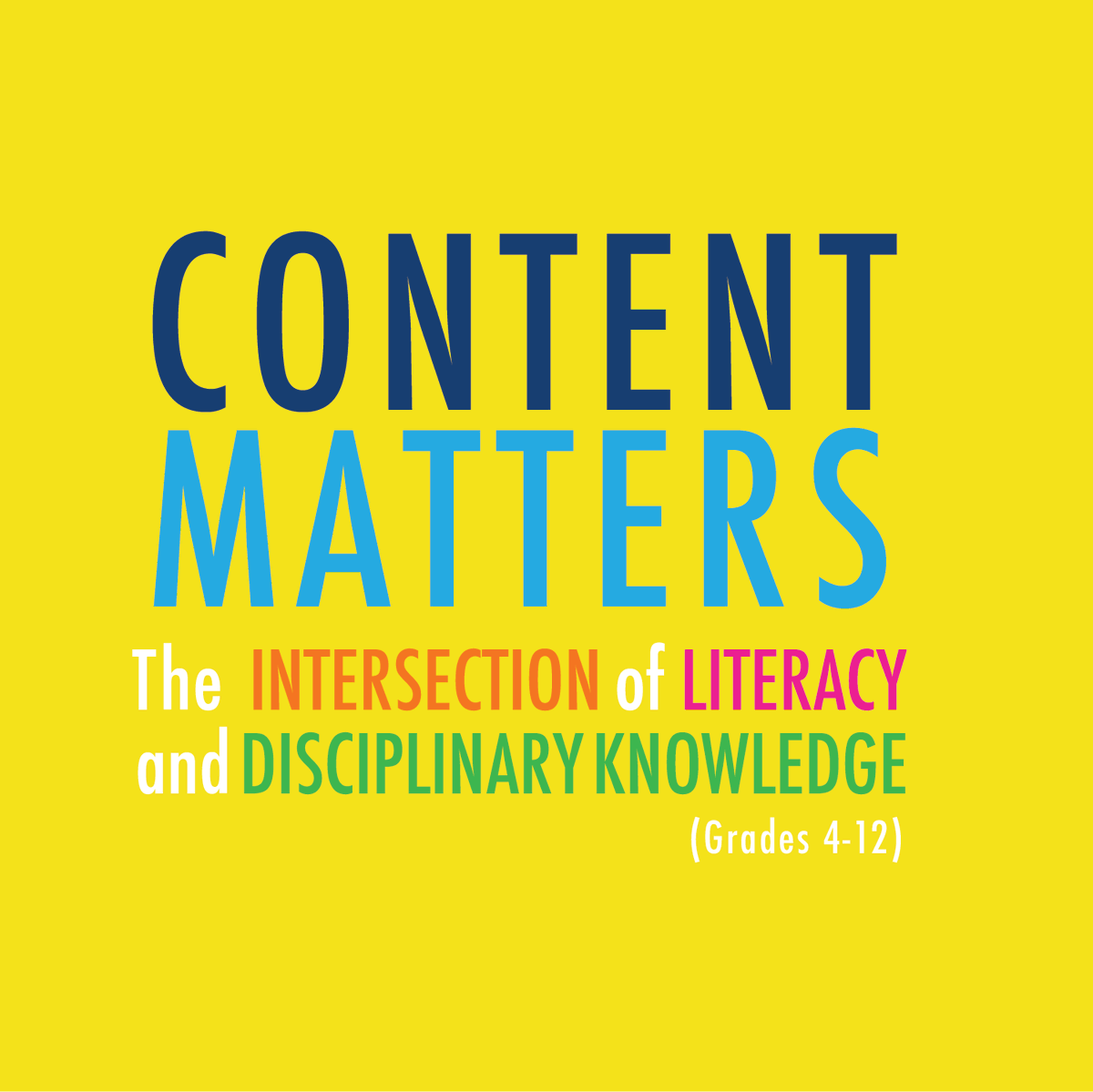 """Register today for #FREE #virtuallearning #conference """"CONTENT MATTERS: The Intersection of Literacy and Disciplinary Knowledge (grades 4-12)""""! Head to https://t.co/fNemtMxXJG for info on sessions, presenters and #PD certificates! #k12 #profdev #principals #superintendents https://t.co/yQudB2yrv8"""