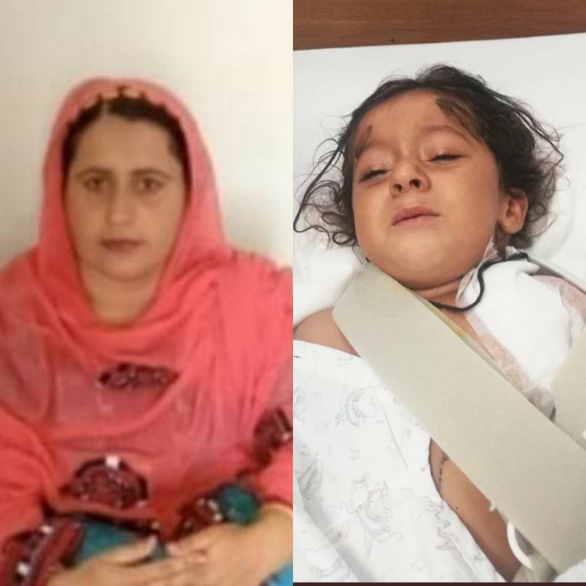 Why isn't there a single ticker on TV  channels on protests in many areas of Balochistan including Turbat, Panjgur, Buleda, Washuk & Pasni for 4-year-old Bramsh & her mother Maliknaz Baloch. Bramsh was shot & injured & mother killed in Dannuk, Kech. Isn't Balochistan in Pakistan? pic.twitter.com/gfmItR1YPi