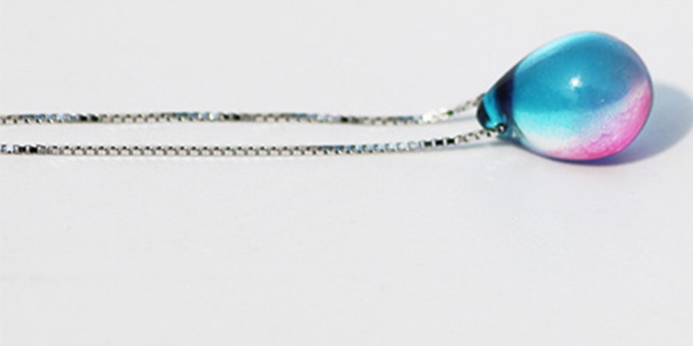 Mermaid necklace beach ocean sea necklace mermaid Mermaid's tears sea sand pendant necklace free ship #eyes #design pic.twitter.com/vXmgbKicbn