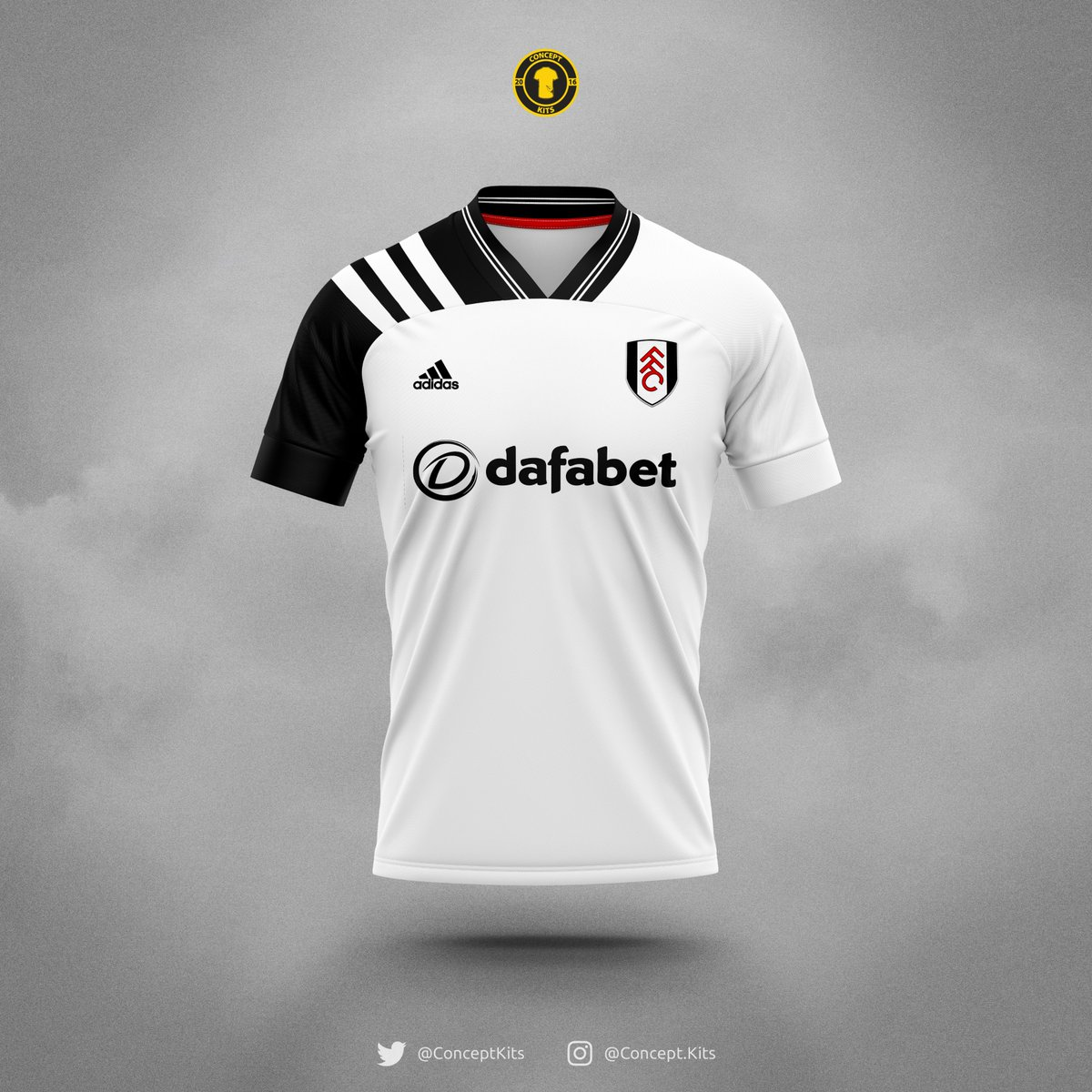 Fulham Football Club home, away and third kit concepts for the 2020/21 season.  #FFC #Fulham #FulhamFC #Cottagers #Adidas #Design #EFL #KitConcept #CravenCottage #Londonpic.twitter.com/rMB5WtE8Yd