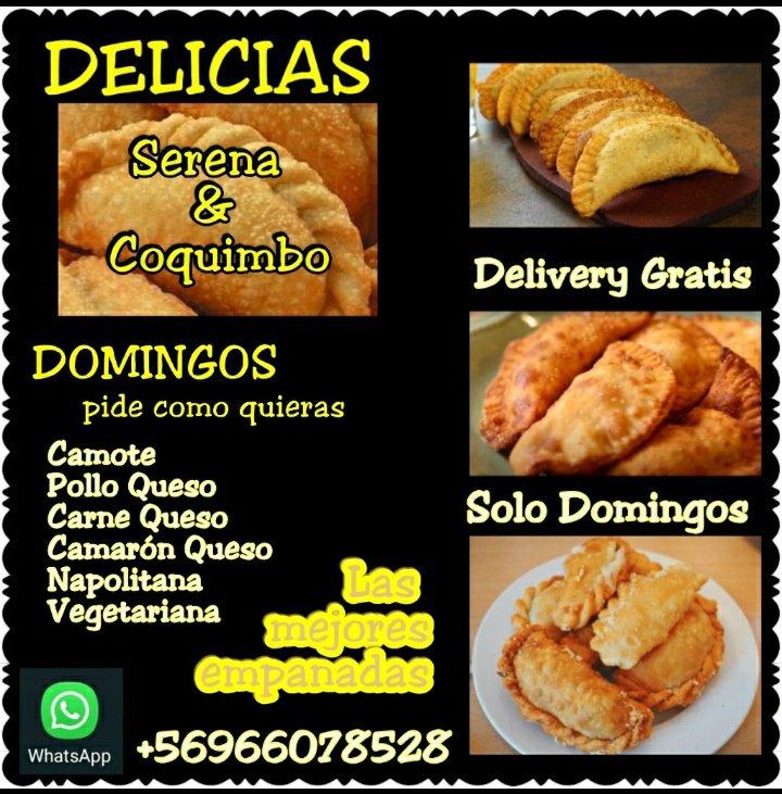 Atentos #Laserena #Coquimbo #Junio #deliverygratis #empanadas #Domingo Apoya con un  RT !!!!!!!!!! Este Emprendimiento  #CUARTAREGION @helenaletras77 @municoquimbo  @ClubIquique @dragonerrante