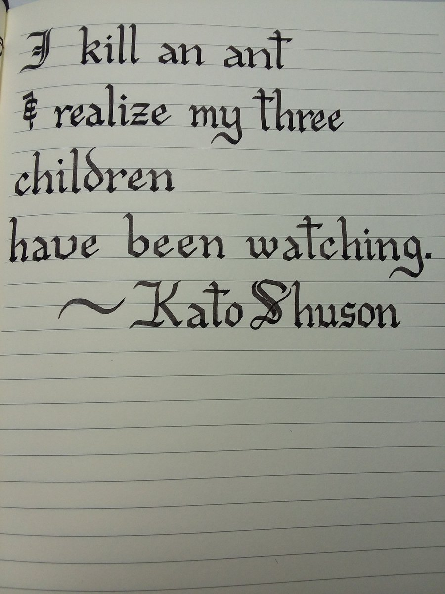 I discovered this #haiku today and wanted to share. It says so much, so simply. #poetry #parenthoodpic.twitter.com/BpOHQC9MYr