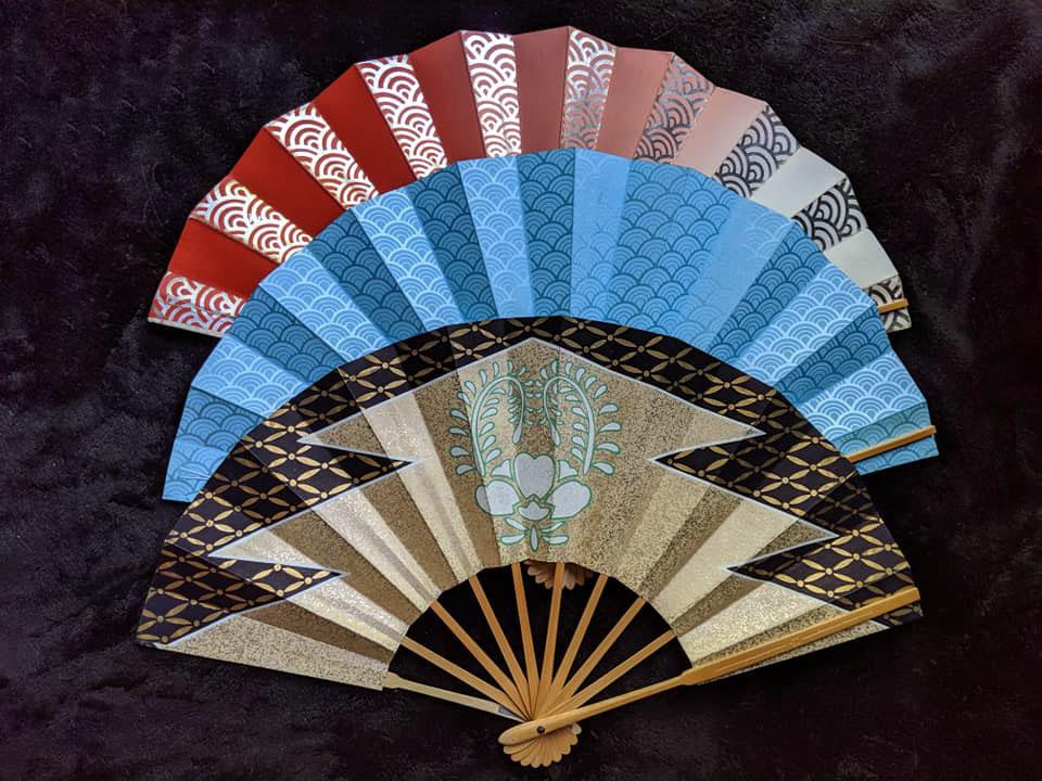 Have you seen the latest vintage fans added to our site?  -- #ohiokimono #kitsuke #fan #sensu #japanesefan #japaneseculture #cosplay #fashion #bohofashion #wafuku #kimonostore #buykimono