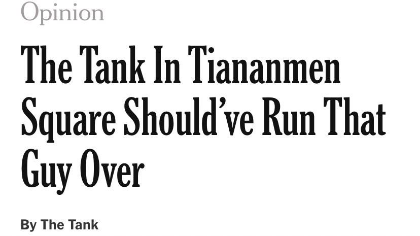 Gotta hear all sides in the NYT