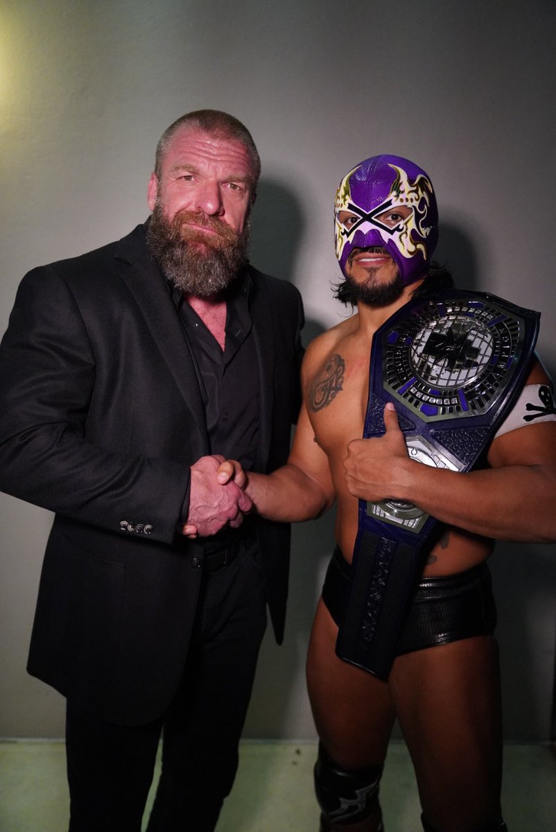 The @WWENXT Cruiserweight Championship tournament was about representing a division.  Athleticism, heart, grit, determination,  upset, heartbreak, and hope. And now this division has a new measuring stick...  Congrats to the NEW #WWENXT Cruiserweight Champion @hijodelfantasma! https://t.co/Udsc6KRUOb