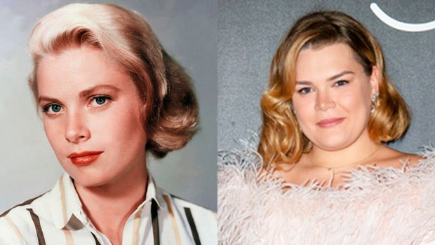 Grace Kelly's granddaughter looks just like her in new pics! hollywood.li/4Hv0cda