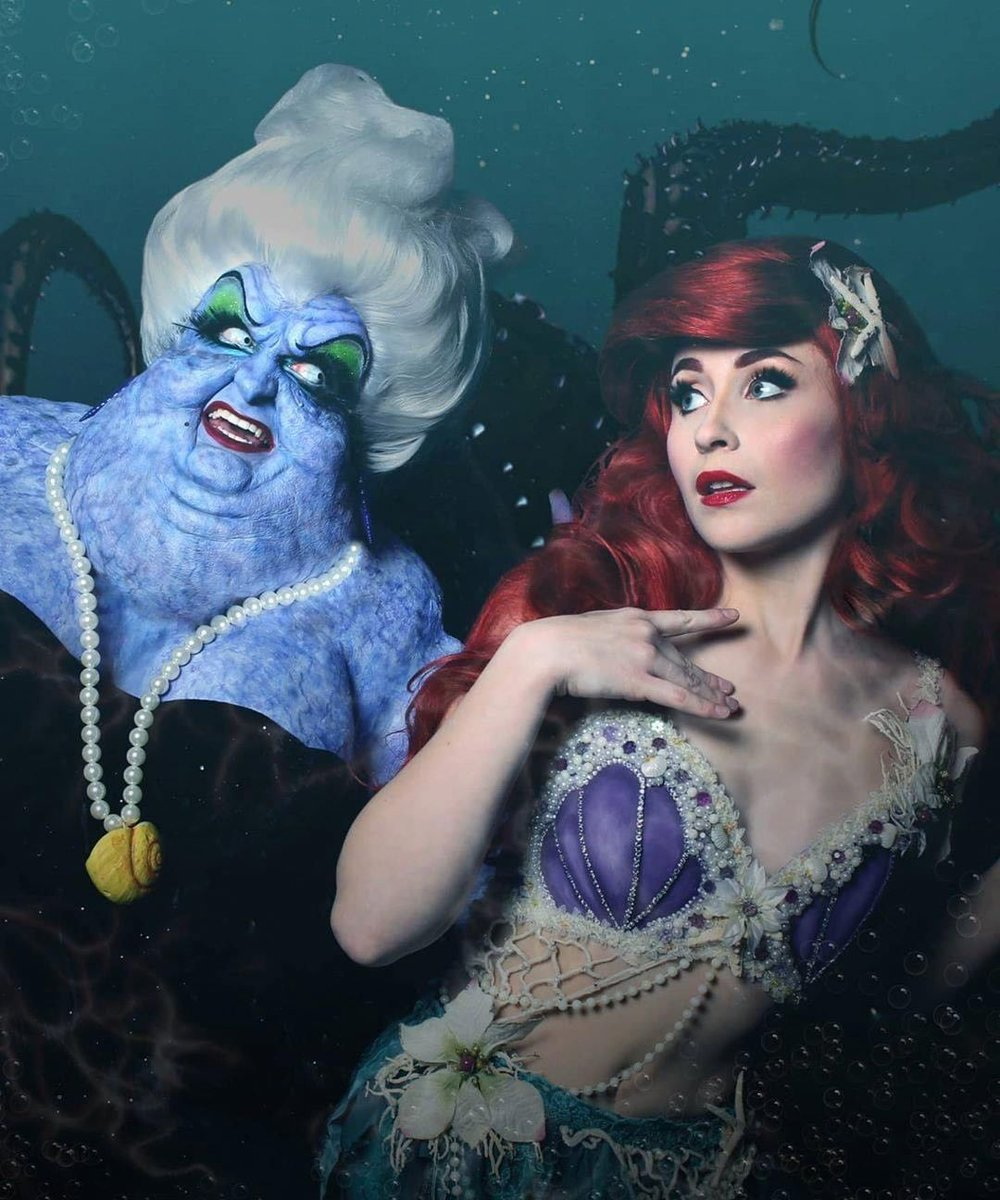 Oh poor Ariel  Credit_ @nikitacosplay    #disneyprincess #disneycosplay #disney #princesscosplay #thelittlemermaid #ariel #arielcosplay #mermaid #redhair #cosplaygirl #ursula #witchpic.twitter.com/j4nSD3Sc5D