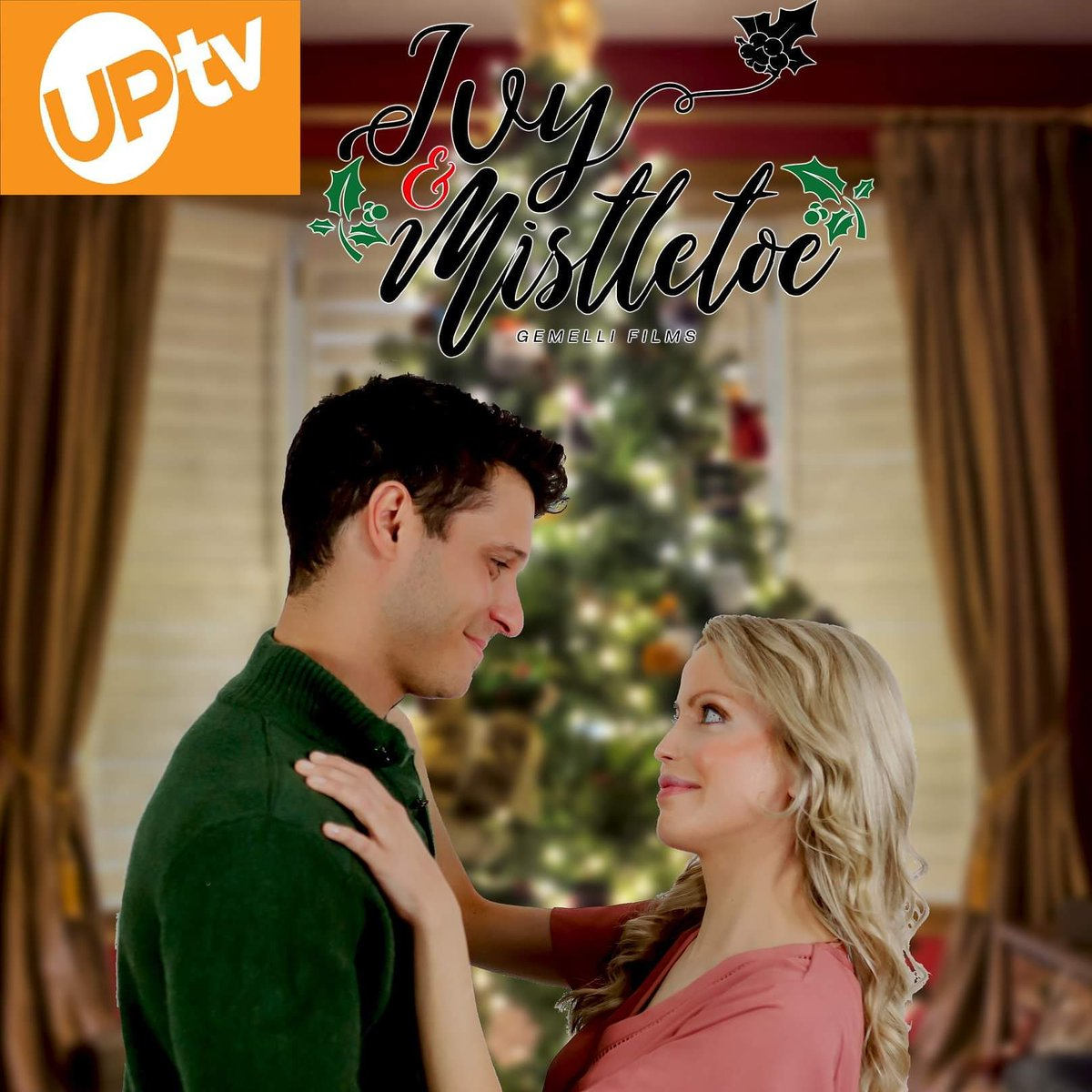 So awesome and thankful for being a part of Ivy & Mistletoe by Candice Cain. It was picked up by UPTV and I am super excited!