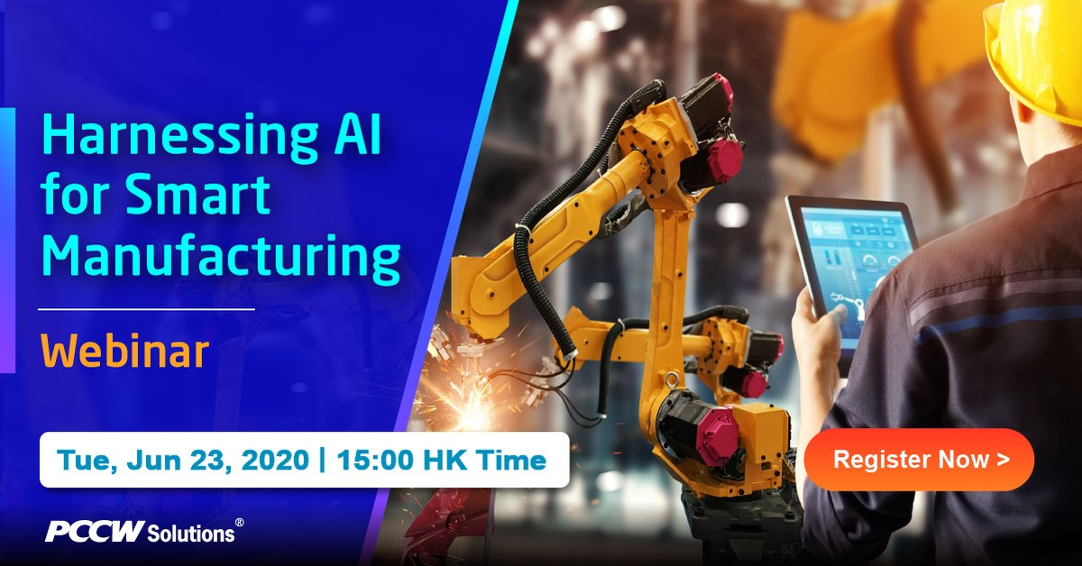 Integrating predictive analytics into the manufacturing systems can efficiently manage operations across the supply chain, lower costs and respond to disruptions proactively. Join our webinar to learn how to leverage AI to become a smart manufacturer. https://t.co/bmtvAG4g5Q https://t.co/aaAp8F2uEZ