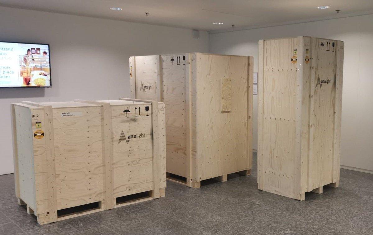 A new #Chronos equipment ready for shipping ✈️ Destination: Vilnius University @VU_LT 🇱🇹 #SEM #cathodoluminescence https://t.co/SD3AKcfYxq