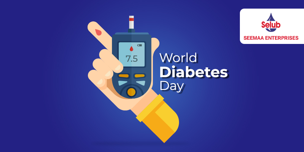 Type 2 Diabetes is both preventable and treatable. Take the time to get yourself tested and eliminate any health risks. #SelubOil #WorldDiabetesDay #diabetes #diabetesawareness #diabetescare #health #diabetesprevention #healthcare #tyeptwodiabetes