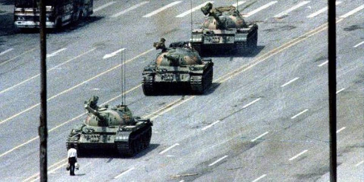 Today marks 31 years since Chinese troops opened fire on student-led protests leading to #TiananmenSquareMassacre. Public commemoration is banned in mainland China, and this year also in #HongKong. We want to remember those who stood for equality & democracy, now and then.