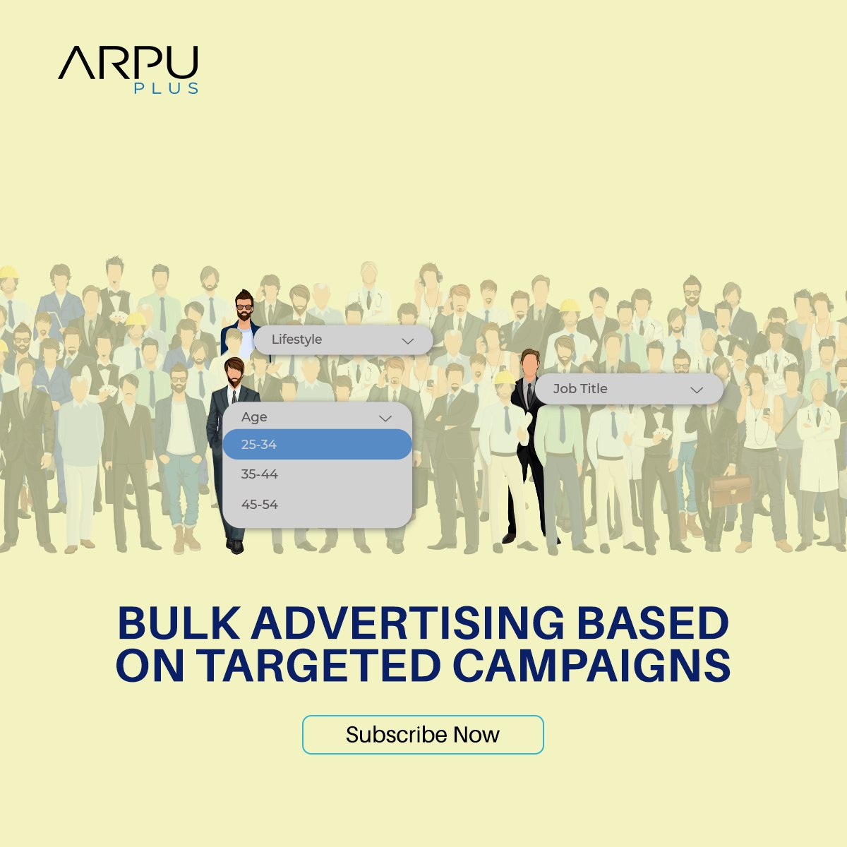 Our bulk advertising based on targeted audience is a great way to choose your desired list of customers and send your ads based on demographics and psychographics traits.   Subscribe now: https://t.co/YFCPMFKTeU  #ArpuPlus #MobileAdvertising #BulkSMS #Messaging #Marketing https://t.co/0DD6fRn3KD