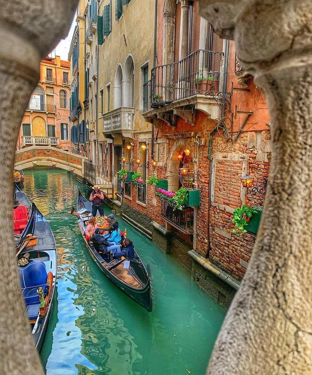 صباحكم الجميلة فينيسيا، البندقية ❤️ ايطاليا 🇮🇹  Venezia, Italy https://t.co/R9yxvzx0EJ