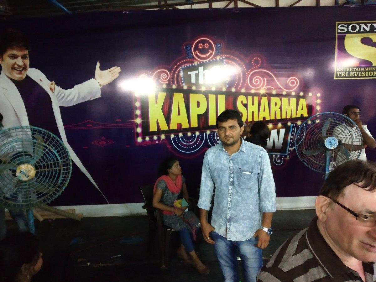 In #filmcitygoregaonmumbai kapilsharmashow pic.twitter.com/HQJPsa3KEc