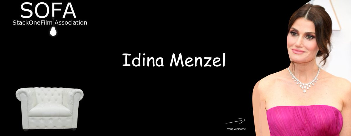 #IdinaMenzel @IdinaMenzel  #Sofa #StackOneFilmAssociation #SoundTrack #Movie #Tv #Art #Fashion #Video #Photo #Camera #Theater #Actress #Actors #Gfx #Sfx #Animation #3D #Director #Entertainment #Reviews #Tech #America #Asia #Europe #Africa #Australia #Global https://t.co/TKhyVqrzw7