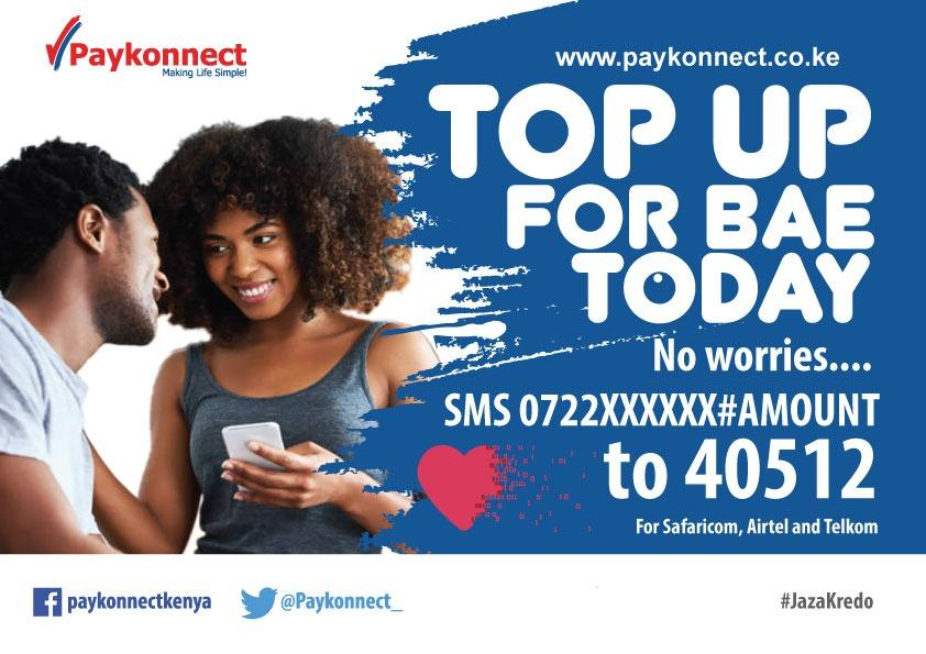 Gifts is a universal love language. Gifts can come in any form- including airtime  JazaKredo for your better half and make them love you even more.  SMS number#amount to 40512 and watch the magic happen #JazaKredo<br>http://pic.twitter.com/qpmS9vzlxc